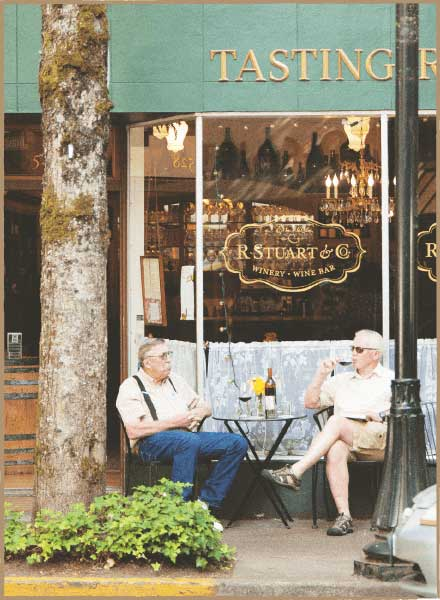 McMinnville's Tasting Rooms