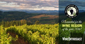 Willamette Valley Wine Enthusiast Star Award