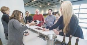 Brittan Vineyards Wine Tasting Room McMinnville Oregon
