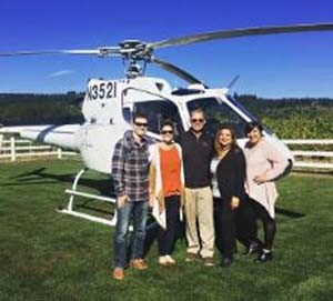 Tour DeVine by Helicopter in McMinnville Oregon