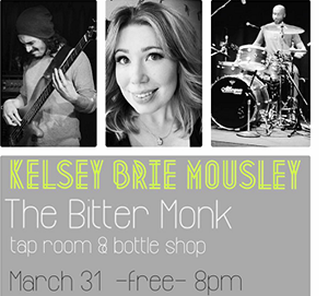 Kelsey Mousley live at The Bitter Monk