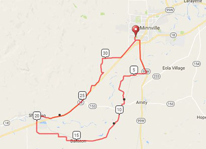 Interactive Cycling Map Link