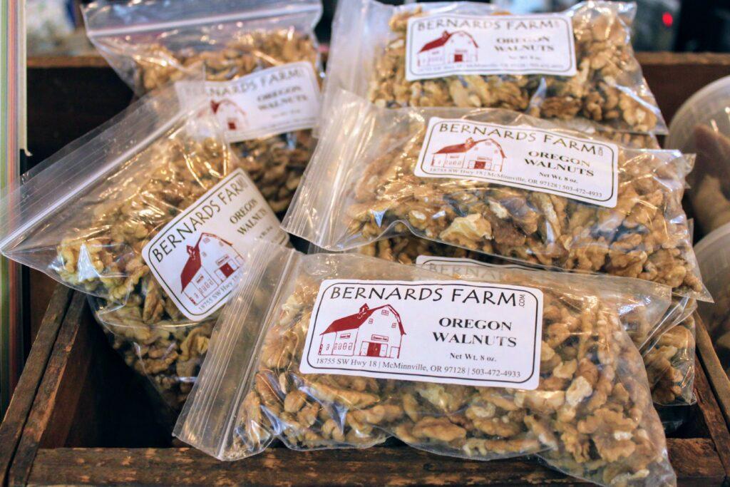 5 bags of Oregon Walnuts from Bernards Farm