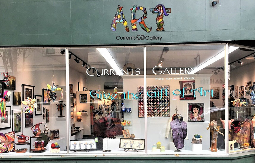 The front of Currents Gallery